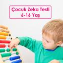 Çocuk Zeka Testi 6-16 Yaş