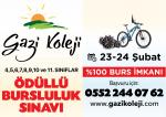 Gaziantep Gazi Koleji Bursluluk Sınavı