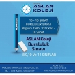 Gaziantep Aslan Koleji Bursluluk Sınavı